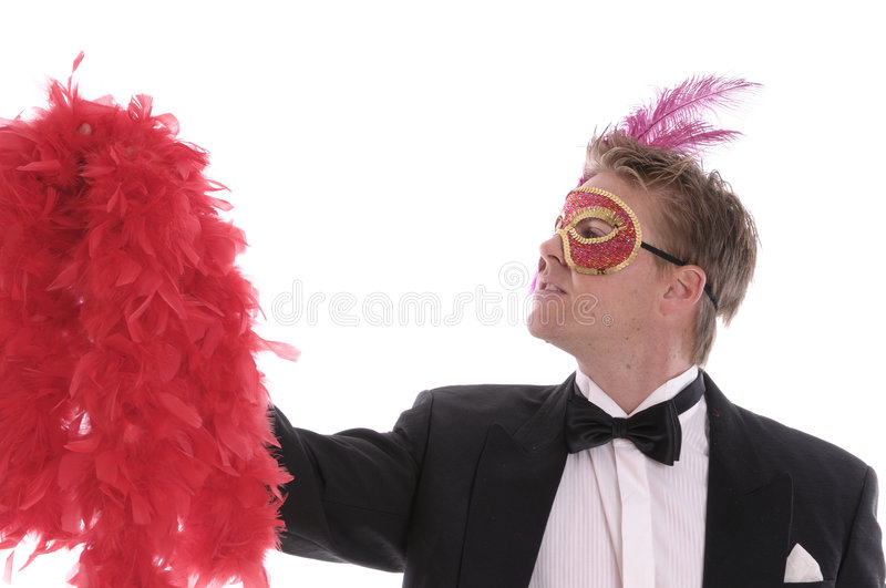 Download Man in carnival mask stock image. Image of single, party - 5707309