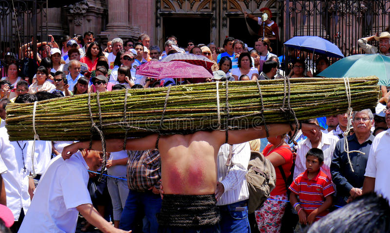Holy Week in Mexico royalty free stock photos