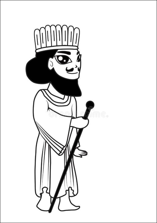 Download Man cartoon stock vector. Image of brunei, artwork, asian - 26585160
