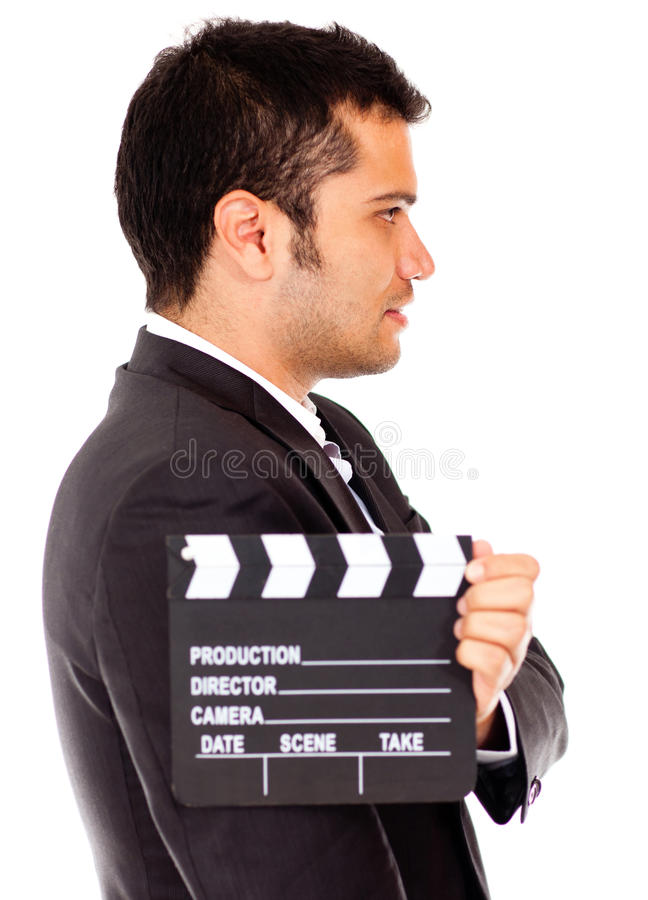 Download Man casting for a tv role stock image. Image of adult - 24772347