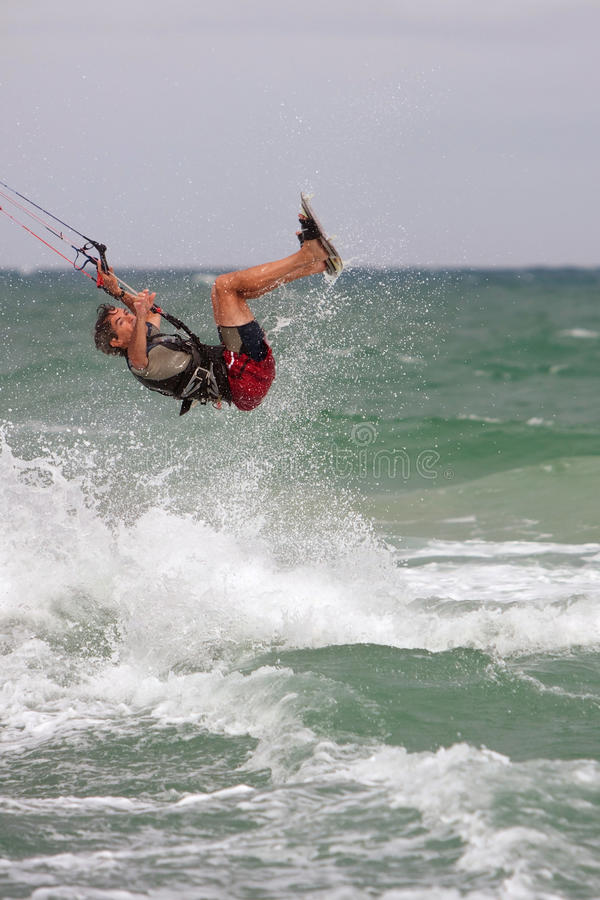 Download Man Catches Air Parasail Surfing In Florida Editorial Image - Image of sports, skill: 37952830