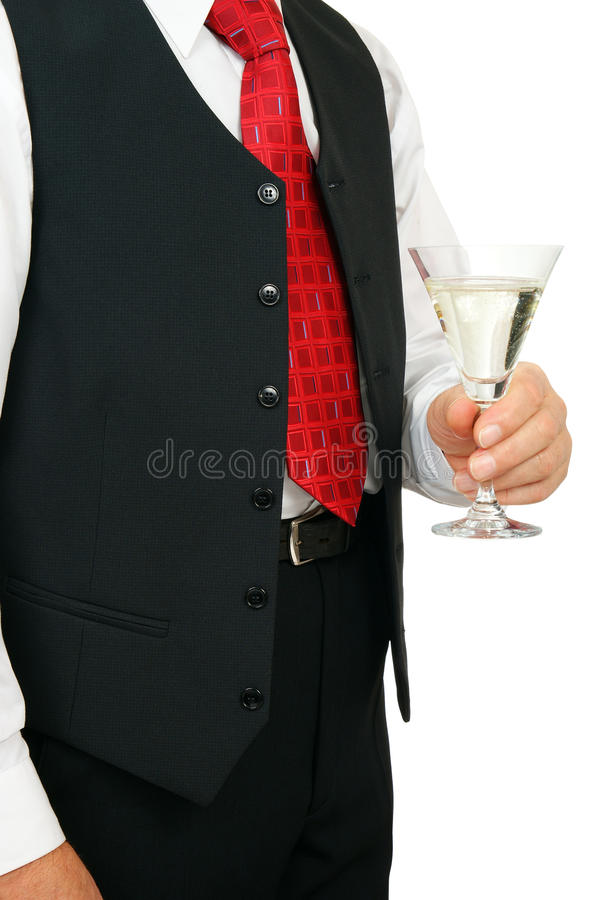Download Man with champagne stock photo. Image of glass, party - 11682120