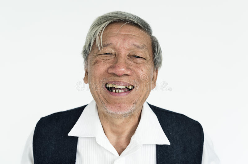 Man Cheerful Smiling Portrait Concept royalty free stock image