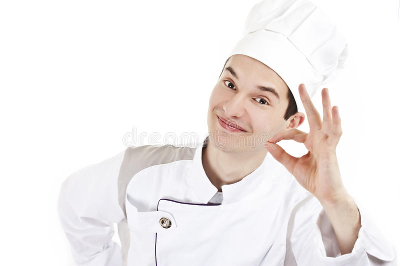 Download Man in chef's uniform stock image. Image of photograph - 18674429