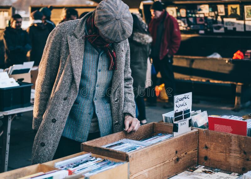 Man Choosing Books In Bookshop Free Public Domain Cc0 Image