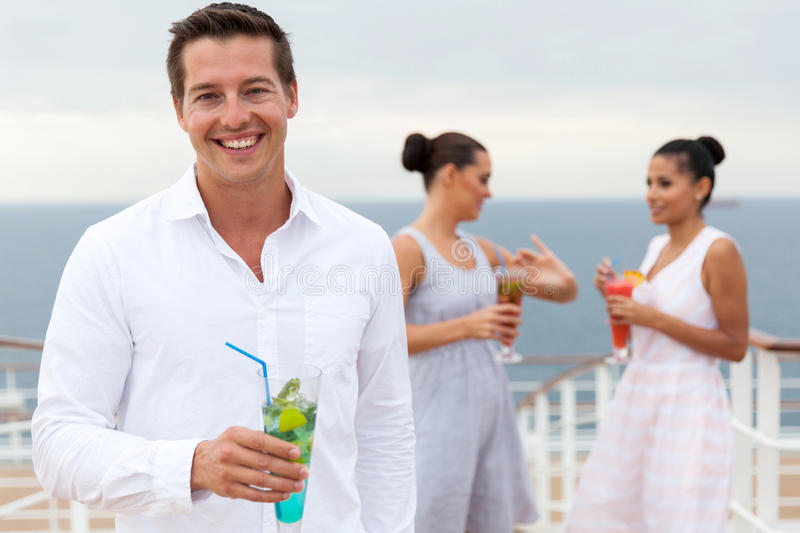 Man cocktail drink stock photos