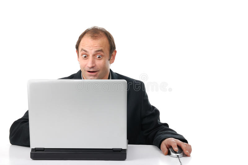 Download Man, computer, internet stock image. Image of account - 9866027