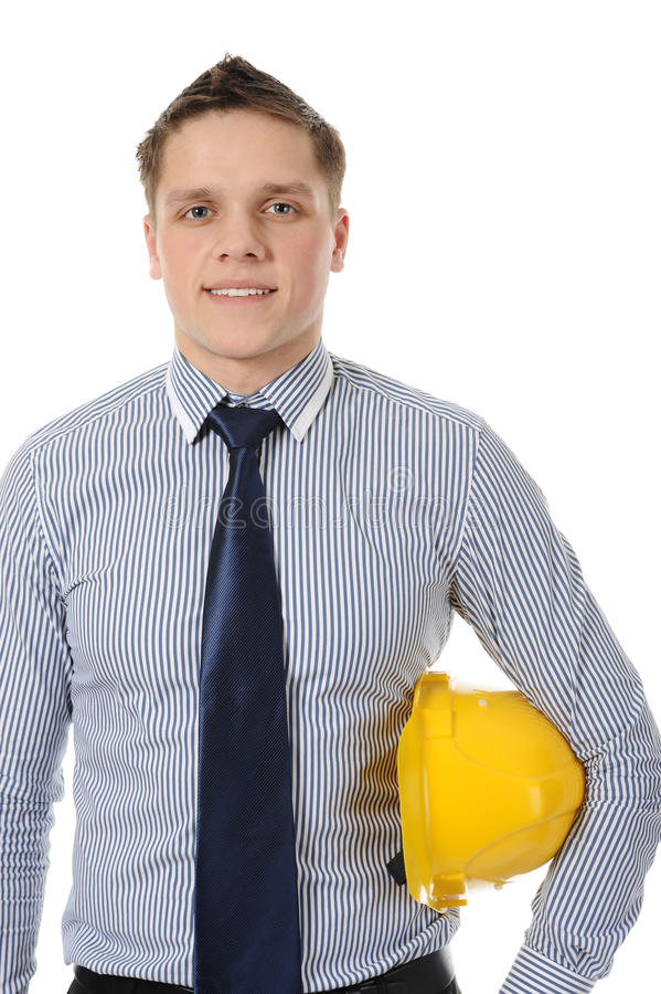 Download Man With Construction Helmet Stock Photo - Image of industrial, engineering: 17140302