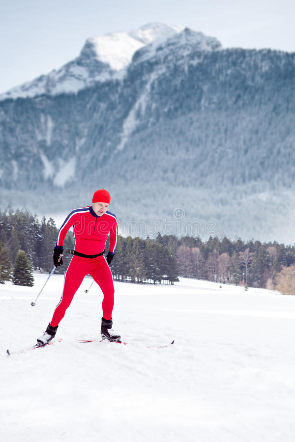 Download Cross-country skiing stock photo. Image of nordic, skiing - 29956448