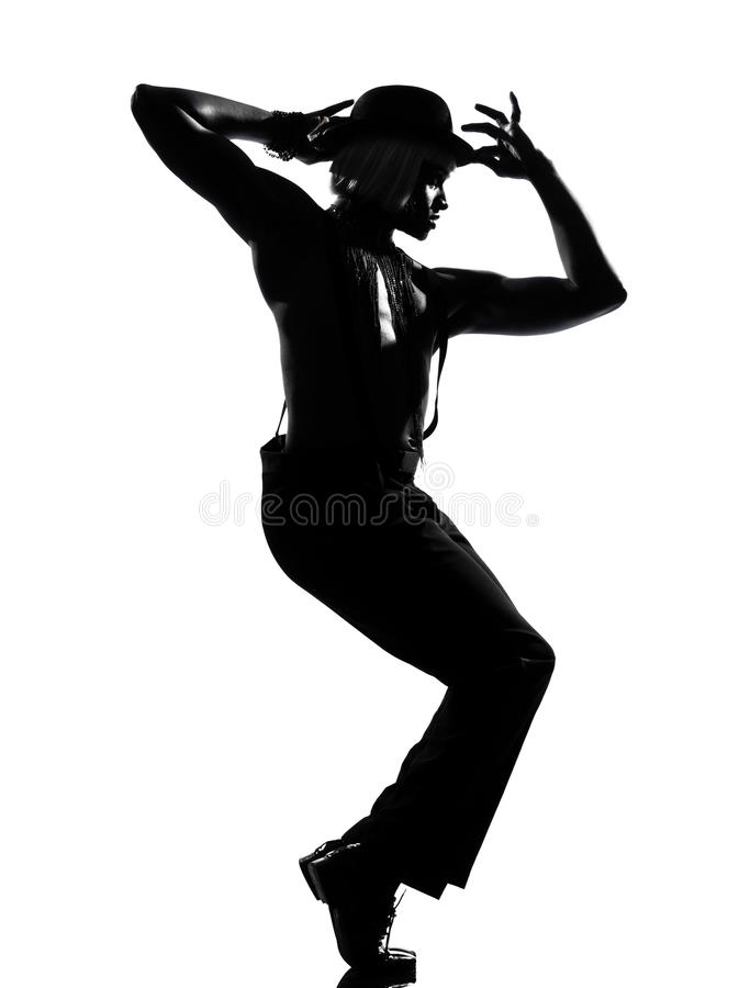 Free Man Dancer Dancing Cabaret Burlesque Stock Image - 24867771