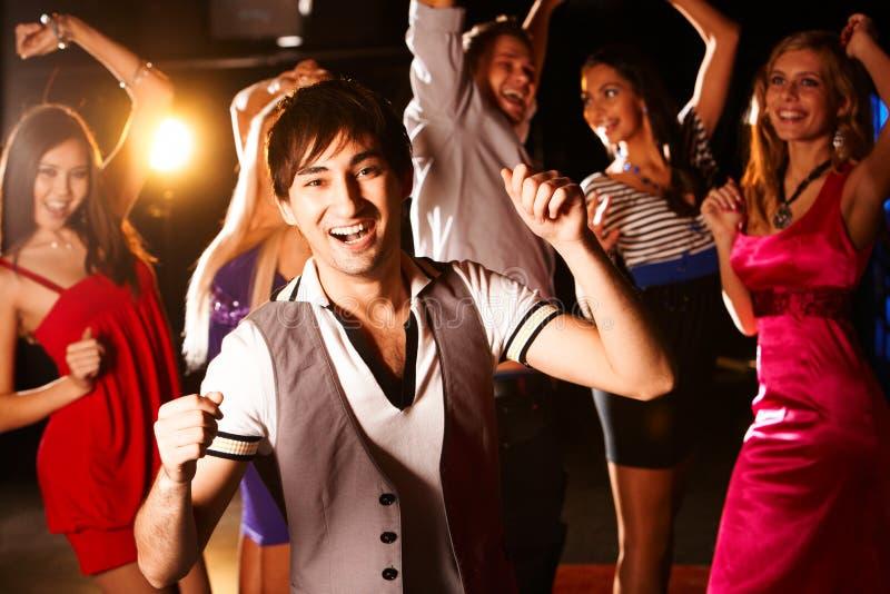 Man dancing stock images