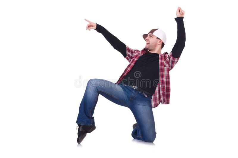 Download Man dancing modern dances stock image. Image of acrobatic - 32810305