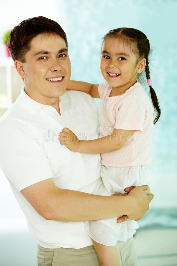 Man With Daughter Stock Image
