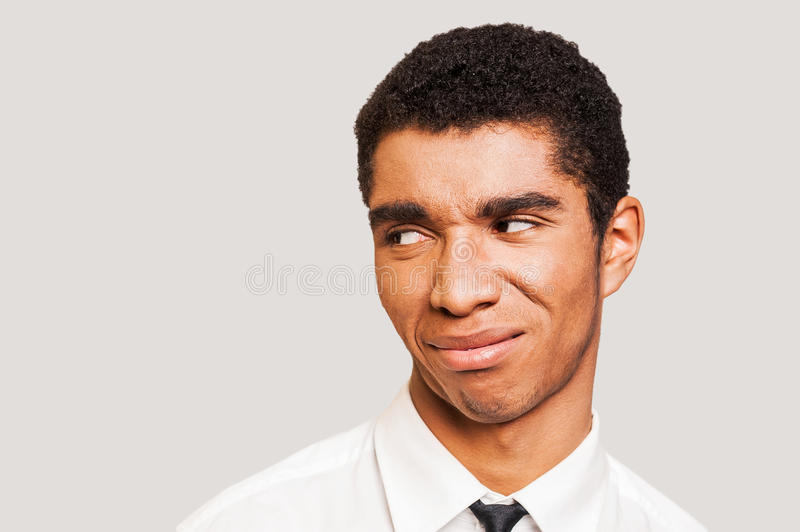 man in disbelief. stock image. image of disgust, confusion - 45683413