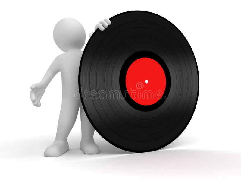 Download Man and Disco stock illustration. Image of music, dancing - 34273017