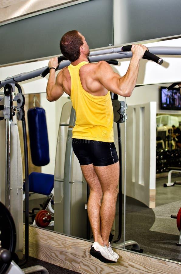 Man Doing Athlete Exercise Royalty Free Stock Photography