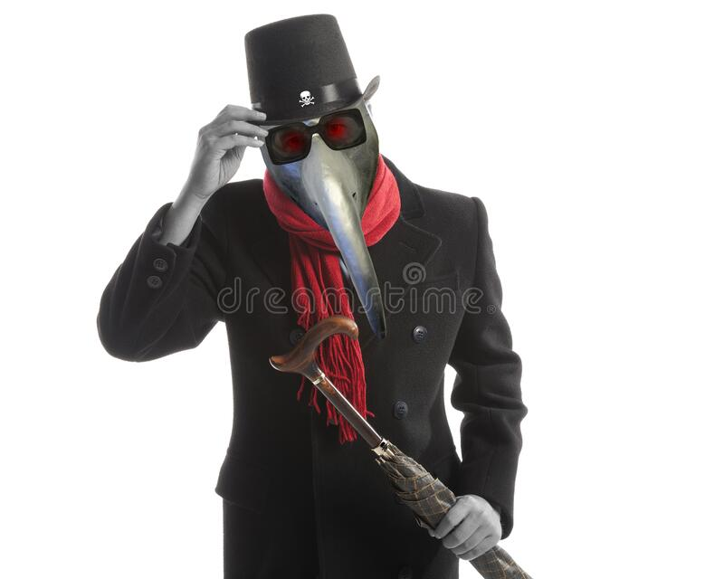 Elegant man in the image of a modern devil royalty free stock images