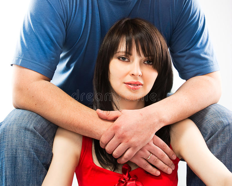 Man Embrace Woman Royalty Free Stock Image