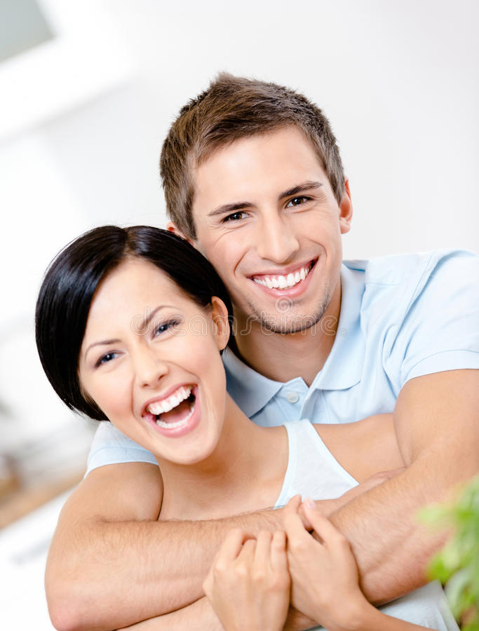 Download Man Embraces His Girlfriend Stock Photo - Image: 30457910