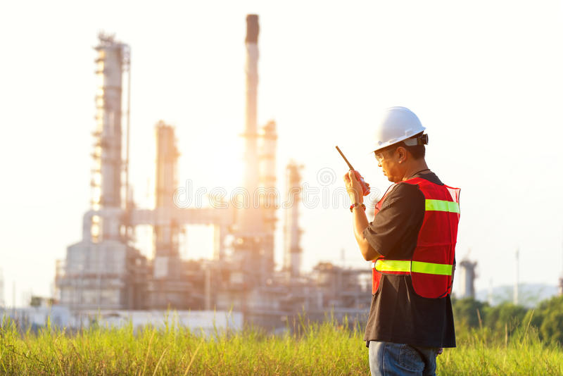 The man engineer at power plant, stock photography