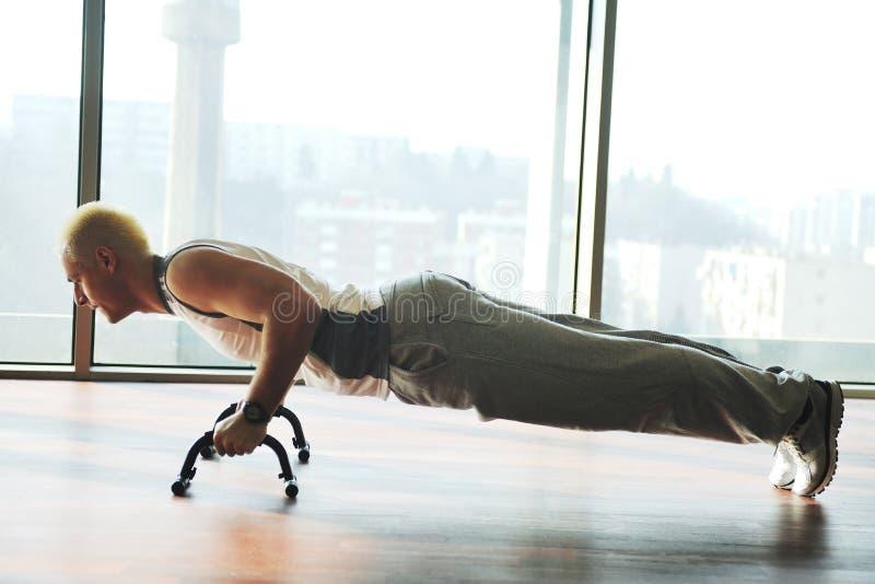 Download Man exercise stock image. Image of athlete, lifestyle - 12962575