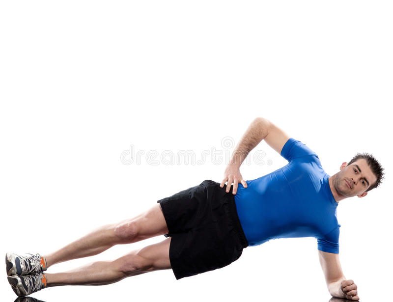 Download Man Exercising Workout Fitness Stock Image - Image: 23920705