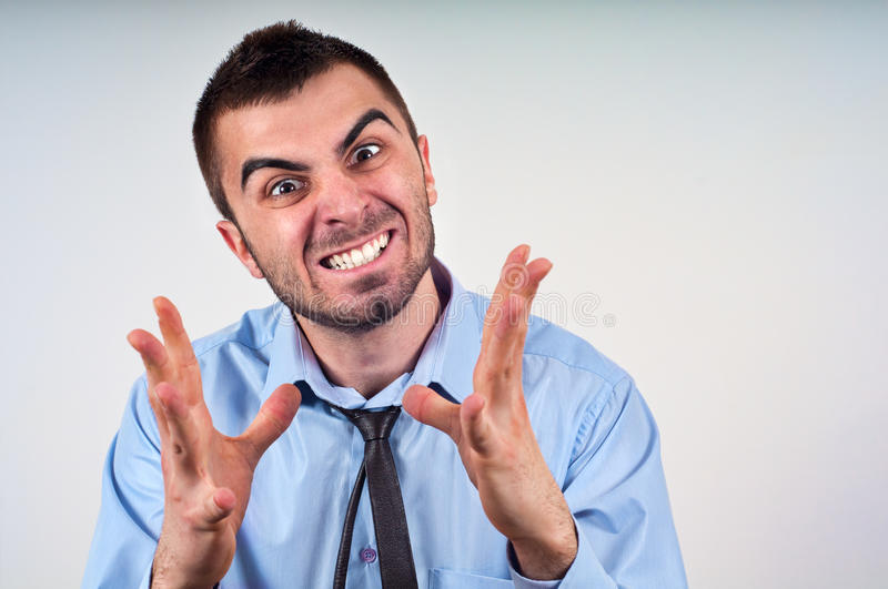 Download Man expressing frustration stock photo. Image of pain - 25567794