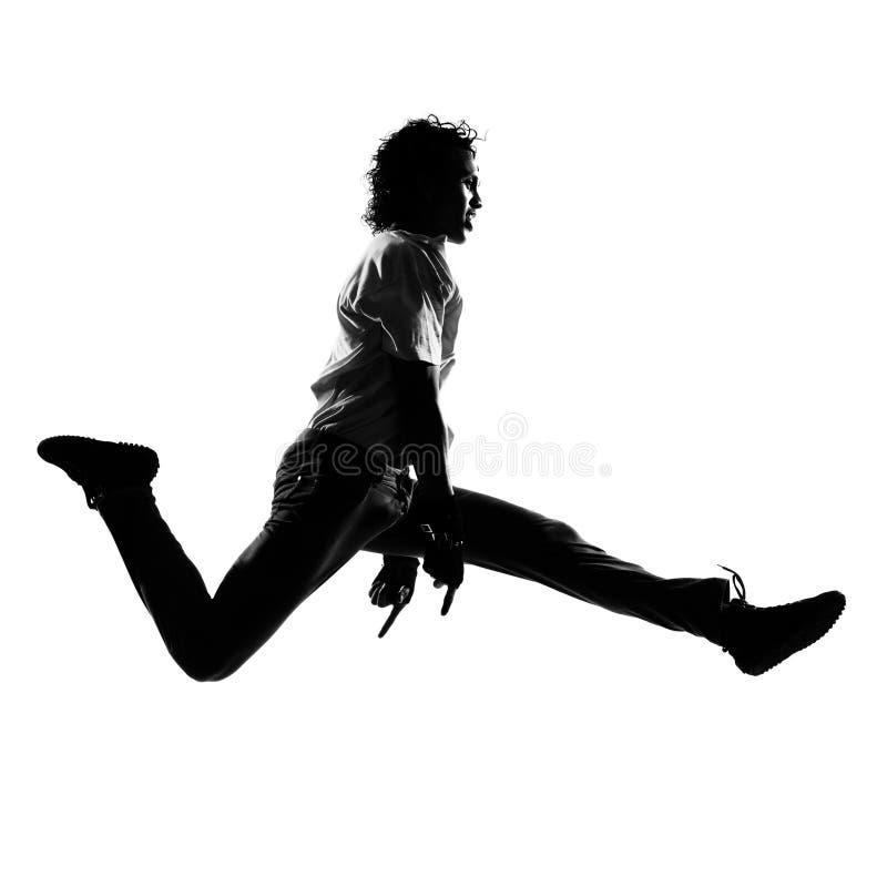 Man för dans för dansare för höftflygturfunk royaltyfria foton