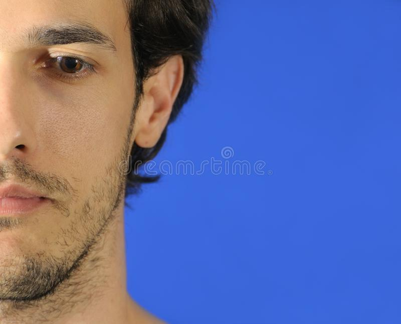 Man face royalty free stock photography