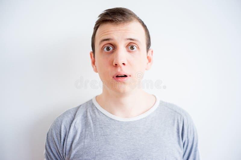 Man face expressions stock photos