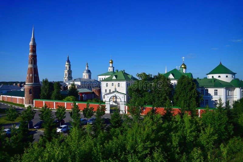 man& famoso x27 de Staro-Golutvin do esmagamento; monastério de s dentro de Kolomna, Rússia fotografia de stock