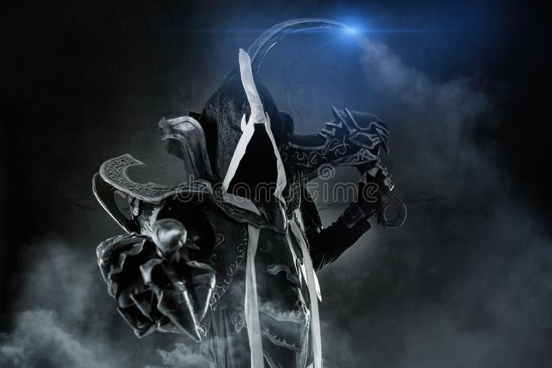 Download Cosplay of a demon stock image. Image of demon, role - 106715313