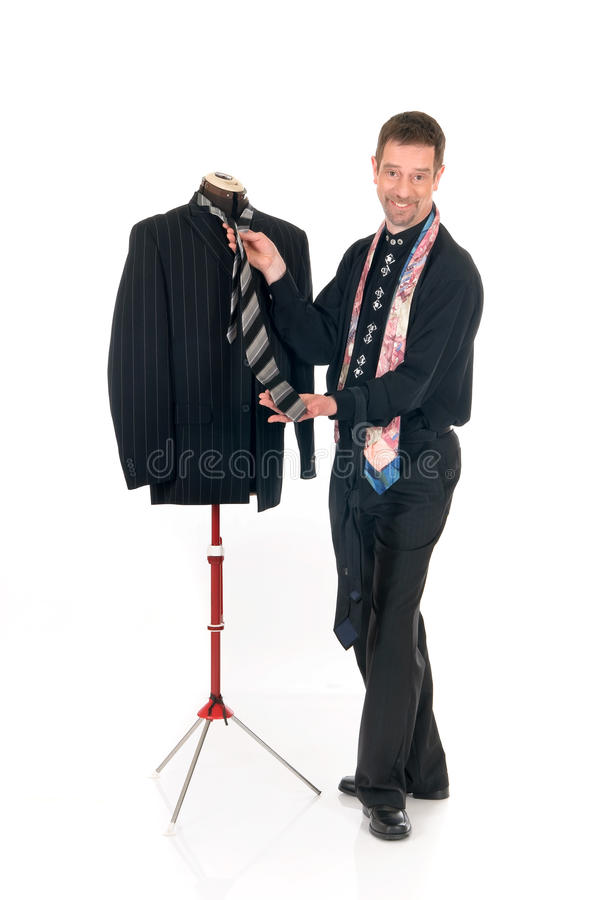 Man Fashion Designer Mannequin Royalty Free Stock