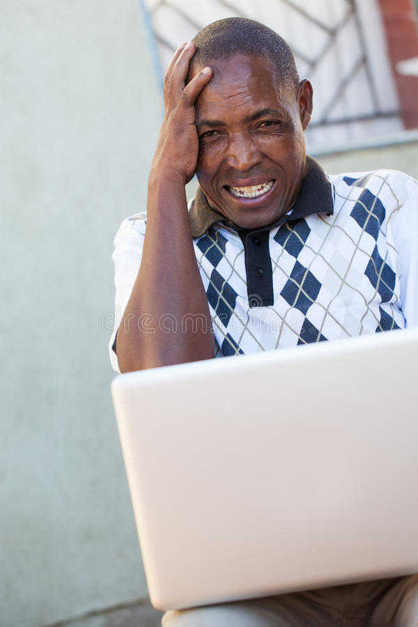 Confused man stock images