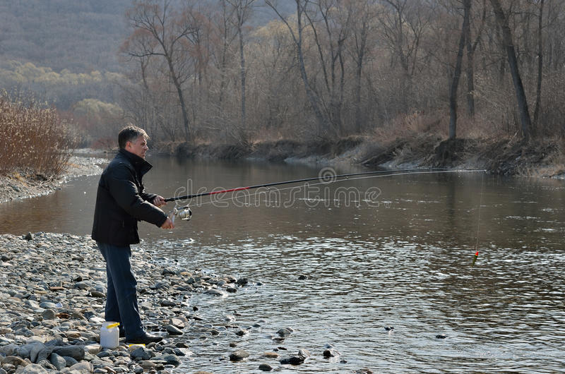 Download Man on fishing 14 stock image. Image of person, fishing - 27452429