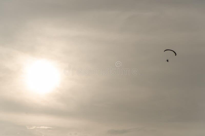 Man flying stock image