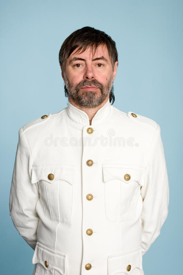 Download Man In Form Of A Naval Officer Stock Image - Image: 24867005