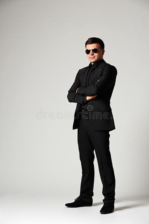 Download Man In Formal Wear And Sunglasses Stock Photo - Image: 29015488