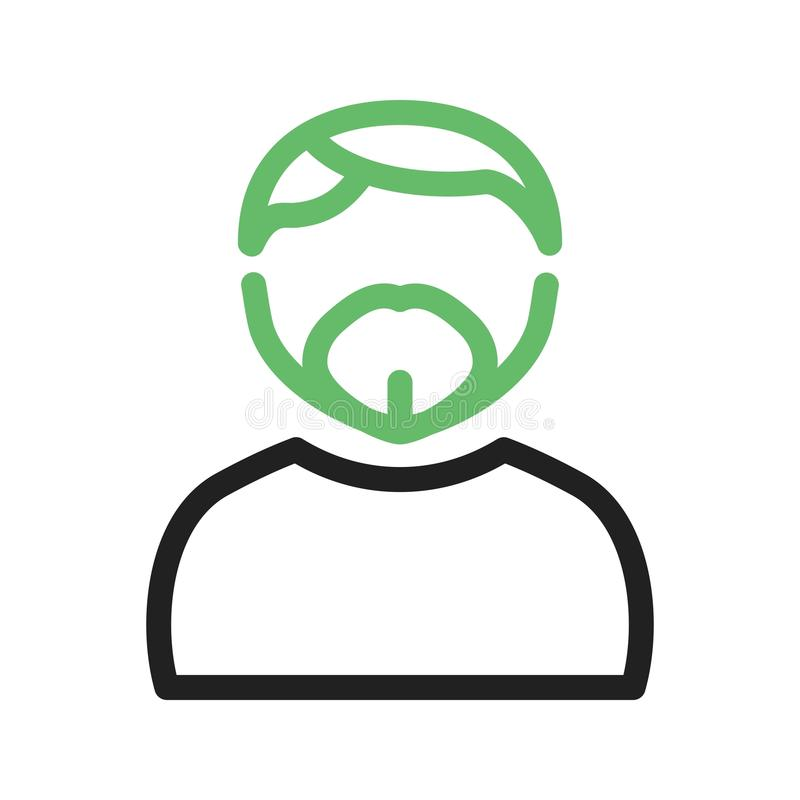 Man in French Goatee. Man, goatee, french icon vector image. Can also be used for Avatars. Suitable for mobile apps, web apps and print media vector illustration