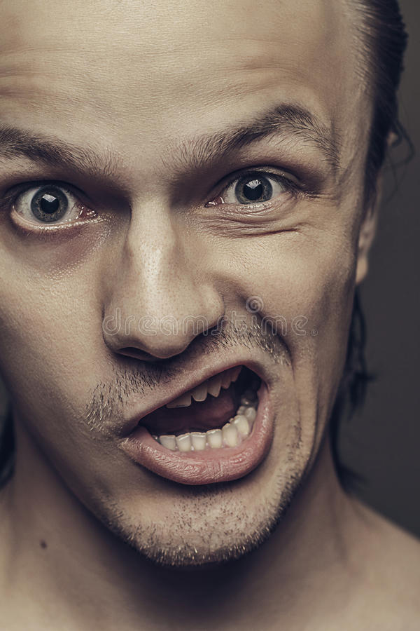 Download Man With Funny Facial Expression Stock Image - Image: 26898381