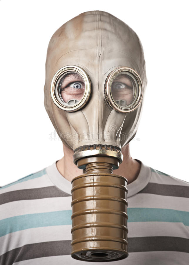 Download Man in gas mask stock photo. Image of camera, clean, mask - 16846042