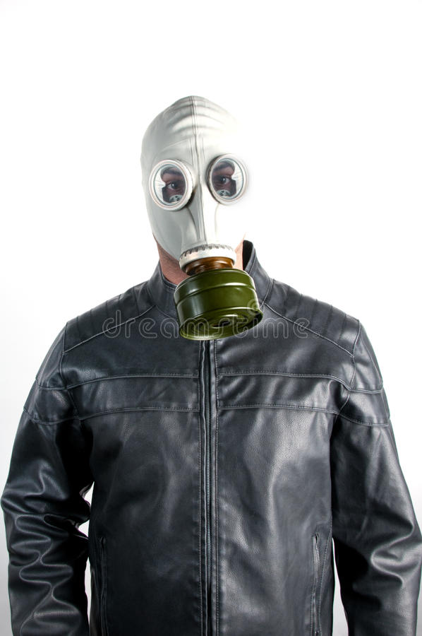 Download Man in Gas Mask stock photo. Image of horror, protection - 23115718