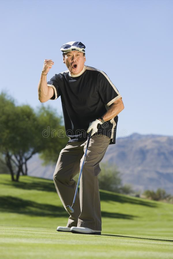 Download Man Gesturing On Golf Course Stock Photo - Image: 13584702