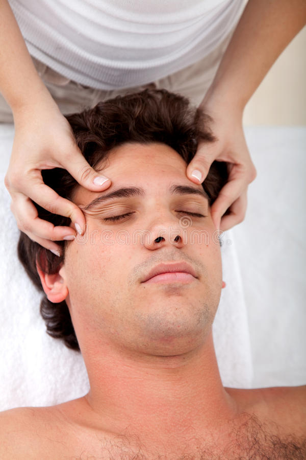 Download Man getting a massage stock image. Image of lifestyle - 9971639