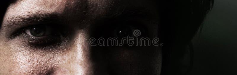 Man gezicht stock afbeelding