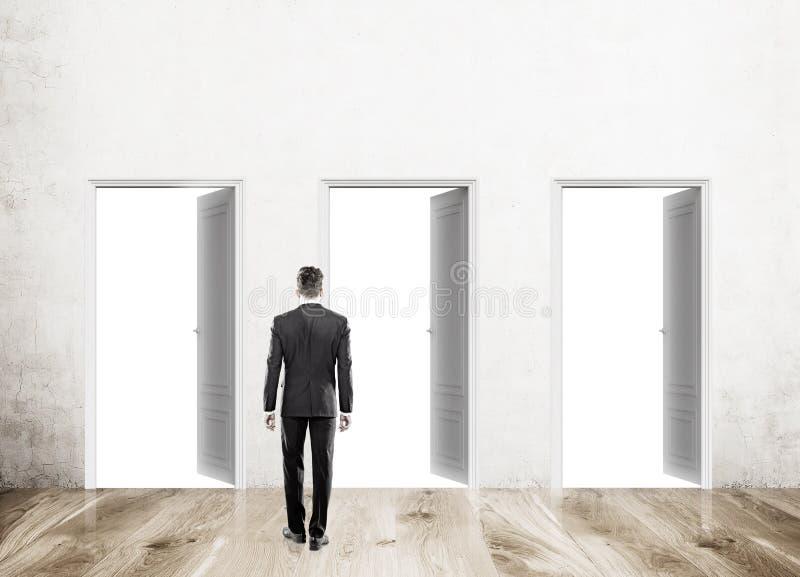 Download Man going to enter door stock image. Image of gate floor - 75710877  sc 1 st  Dreamstime.com & Man going to enter door stock image. Image of gate floor - 75710877