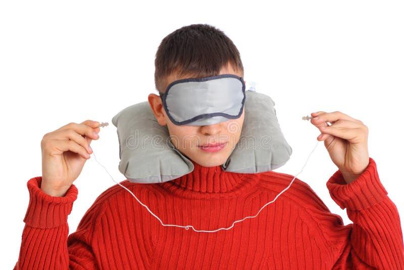 Download Man is going to sleep stock image. Image of plug, human - 9290567