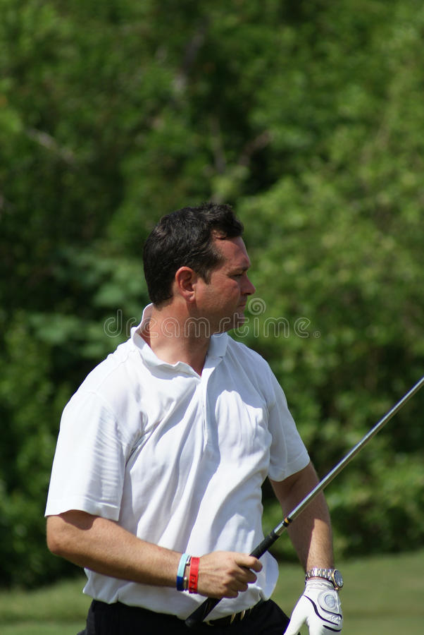 Download Man Golfing Royalty Free Stock Photography - Image: 11442587