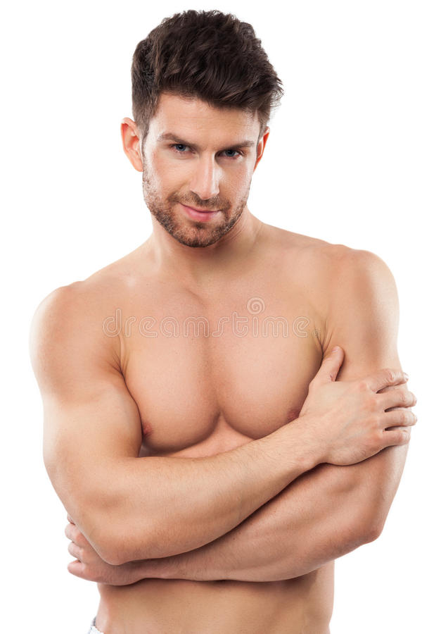 Man with great body. Young man with great body stock images