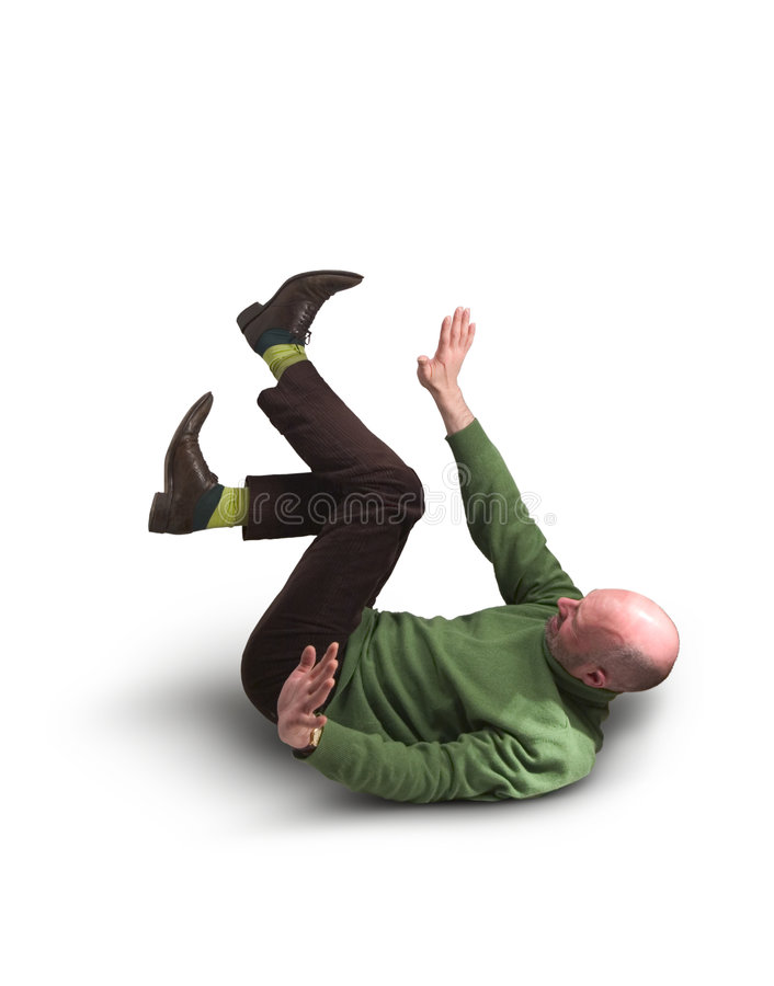 Man in Green Jumper 29. Man in green jumper lying on his back, legs and arms in the air royalty free stock photo